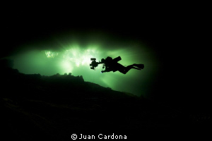 chac Mool Cenote by Juan Cardona 